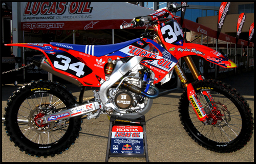 Fox honda motocross kit fox racing tumblr mxa team tested for Fox honda used cars